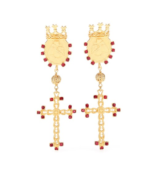 DOLCE+&+GABBANA+Embellished+clip-on+earrings.jpg