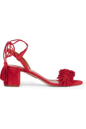 AQUAZZURA+-+Wild+Thing+fringed+suede+sandals.jpg