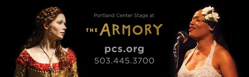 Two tickets to Portland Center Stage