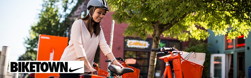 $40 Ride Credit from Biketown