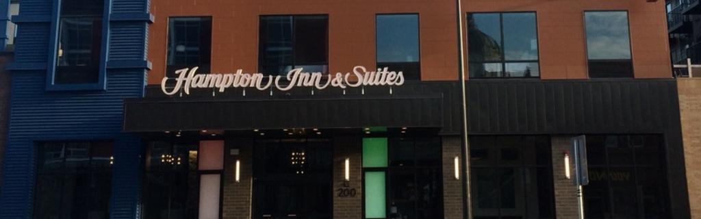 Two-night stay at Hampton Inn
