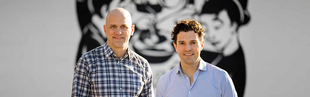 Greg Conner and Matthew Steed, founders of Seattle's  Eat Local .  Photo credit:  Steven Dangerfield Photography