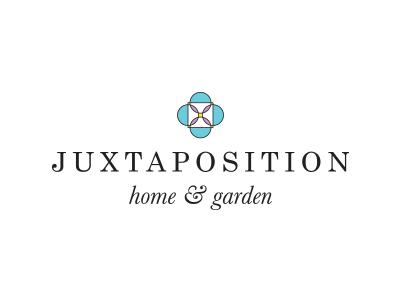 Juxtaposition Home & Garden: Branding