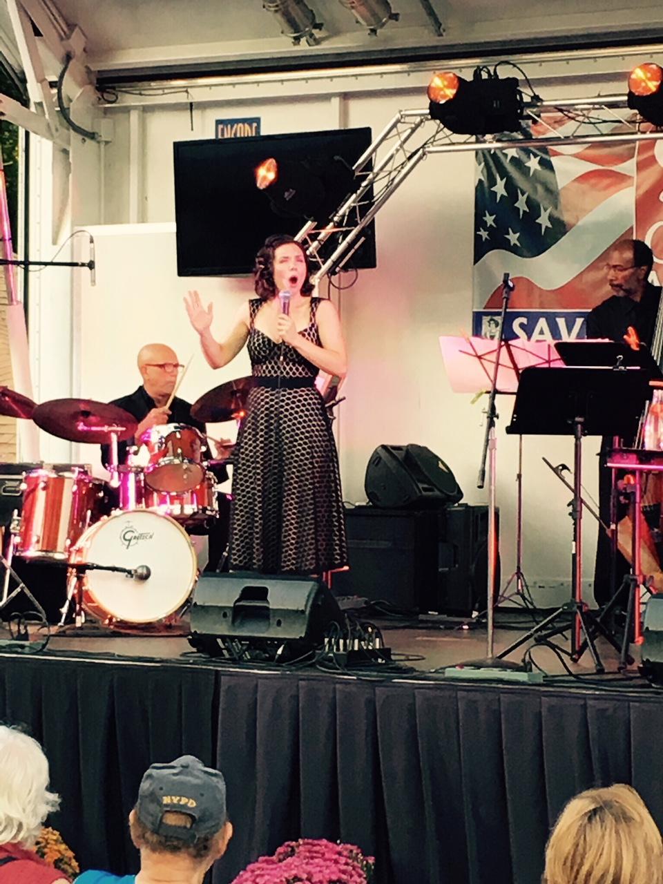At Blauvelt's Italian Festival in NY.