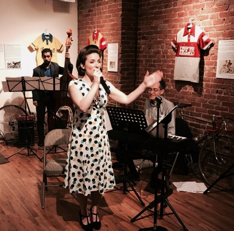 Performance at the Italian American Museum on Mulberry street.