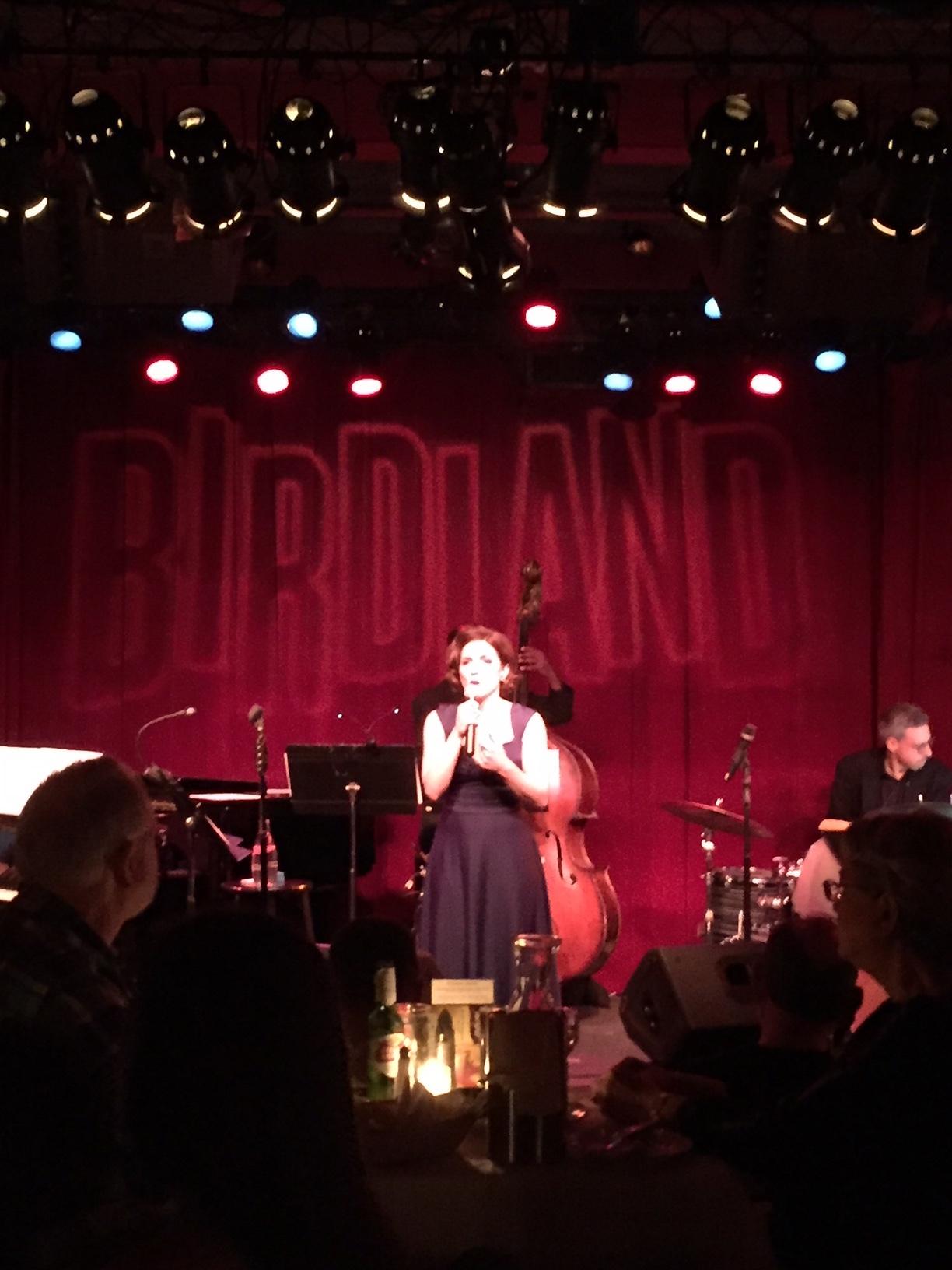 Birdland Jazz Club performance