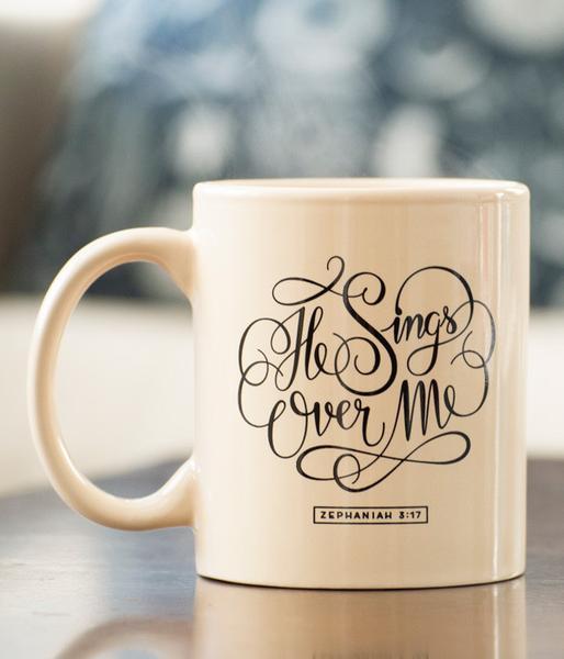 - He Sings Over Me Mug-139Made Shop-