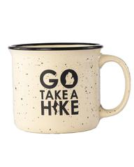 "- ""Go Take a Hike"" 15 oz coffee mug-The Great Lakes State-"