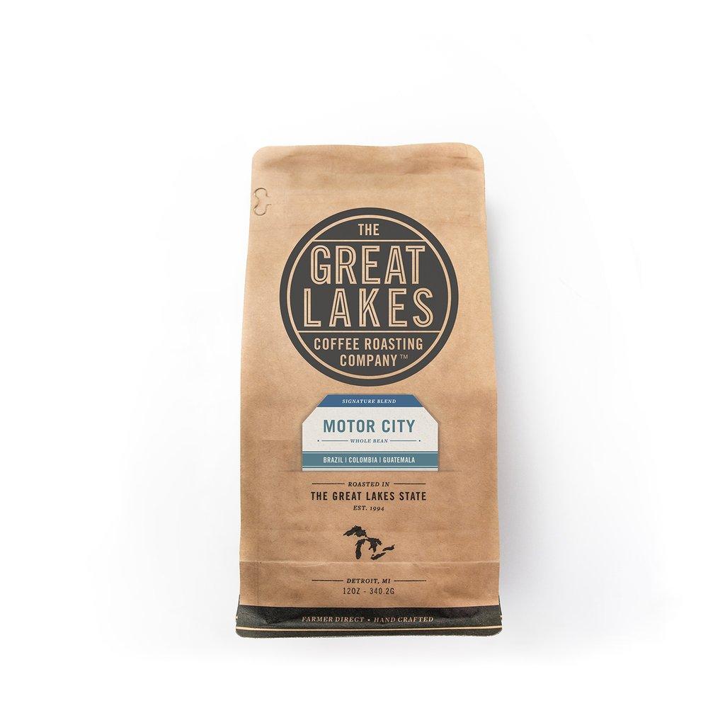 - Great Lakes Coffee Roast - Motor City Blend (12 oz)-The Great Lakes Coffee Roasting Company-