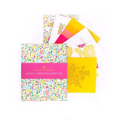 - Joyful Greeting Card Set-Cultivate What Matters Shop-