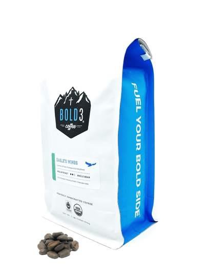 - BOLD3 COFFEE | EAGLE'S WINGS | MEDIUM ROAST-16 oz.Bold 3 Coffee