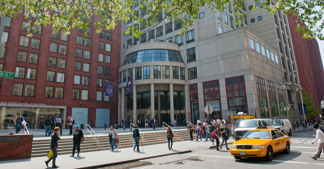 Kaufman Management Center, the location of NYU Stern classes
