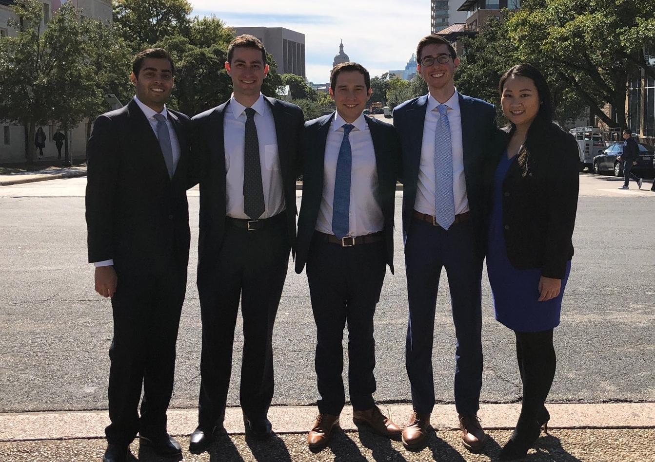 Stern's 2018 UT Austin Case Competition Team