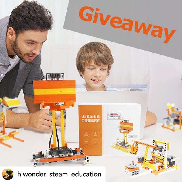 Don't miss out on this awesome giveaway from @hiwonder_steam_education  Hi Wonder makes awesome hi quality robots!  This is your chance to get one of their amazing new kits!  All you have to do is:  Repost their post and tag a friend!! And follow @hiwonder_steam_education  Good Luck!! #giveaway #giveawaycontest #diyrobot #robotkit #robotics #stem #stemeducation #stemeducationforkids #stemkidsrock #steam #edtech @andystechgarage @davek_uk #korea #robotic @bigheart_asia #arduino #microbit #coding #legoeducation #computerscience