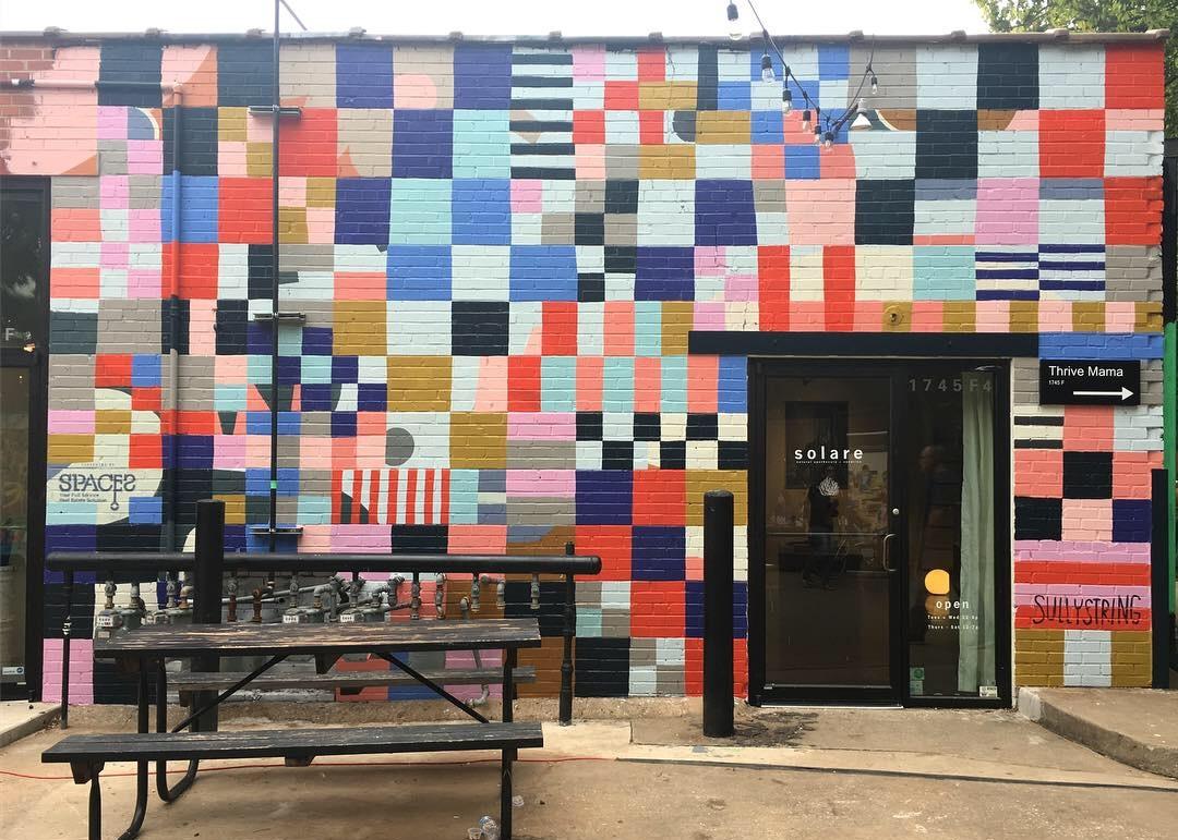 PLAZA WALLS MURAL EXPO  2018 / Oklahoma City, OK /  plazawalls.org  /  @plazawalls