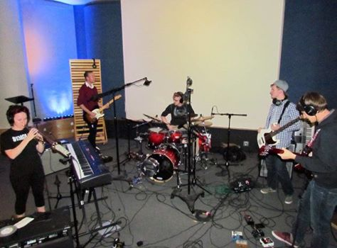 Trying out our new recording space and instruments!