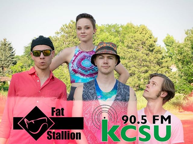 A horse on the radio?! 🐴🤠 Check us out tonight with @kcsufm from 6-7p on 90.5FM or streaming from their website! . We're so excited for our interview tonight, we have some new tunes and a giveaway!! Tune in to win 😉 . #kcsu #csuradio #kcsufm #ExperienceRock #UnityOverUniformity #FatStallionFam #LOVETRUTHTRUSTGROWTH #coloradomusic #nocomusic #giveaway #newmerch #newmusic #radiointerview #independentartist #indierock #alternativerock