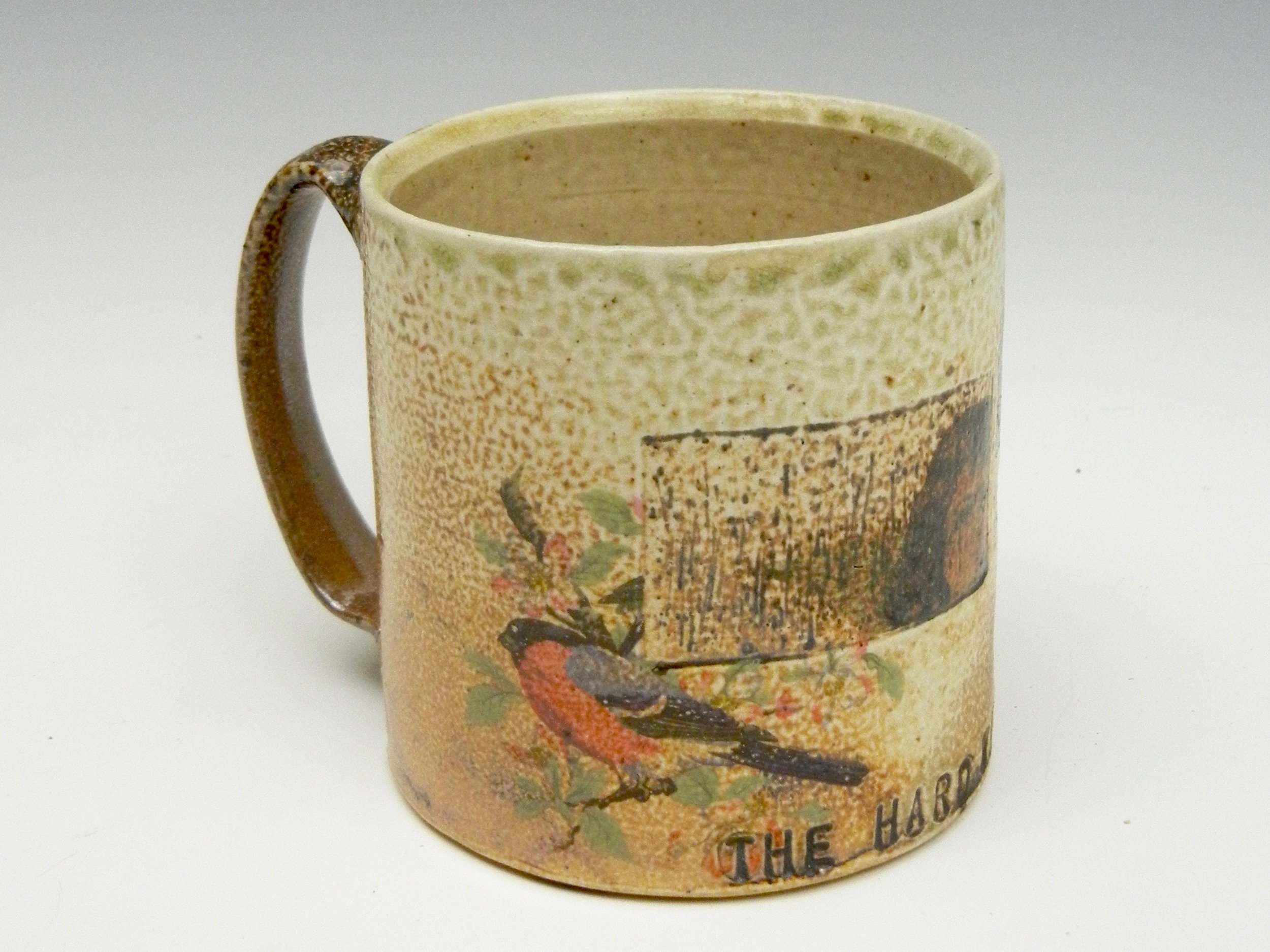 Lorenz Pottery, handmade, ceramics, pottery, folk pottery, wood fired, soda fired, coffee, mug