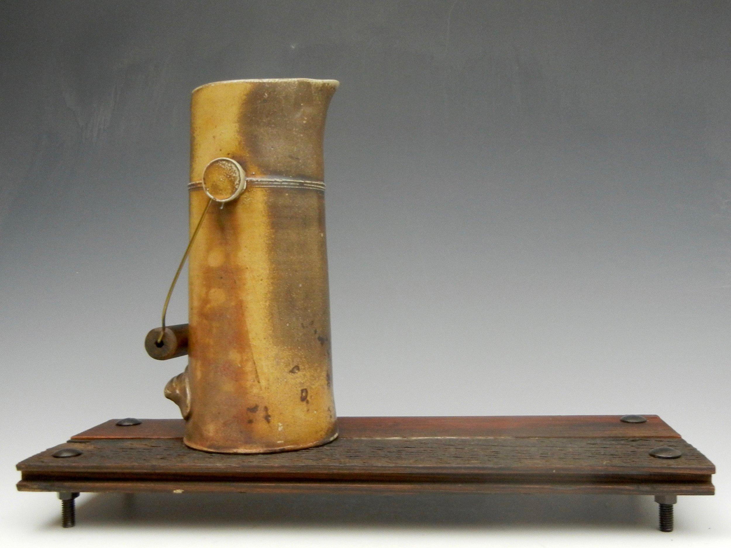 Lorenz Pottery, handmade, ceramics, pottery, folk pottery, wood fired, soda fired, pitcher