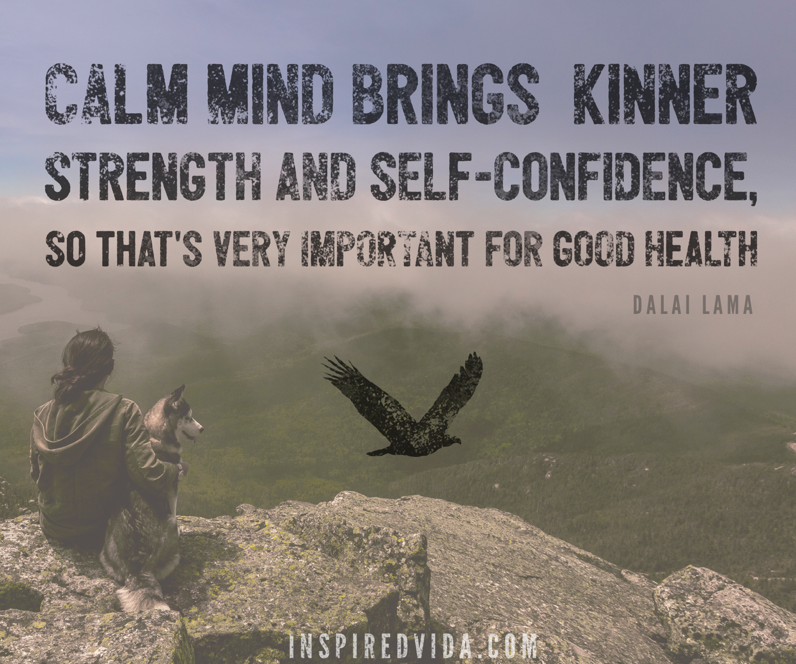 calm mind & good health