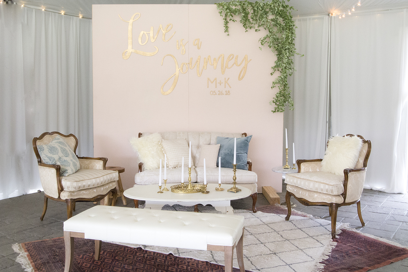 Happily ever Afetr Tannous - Wedding complete styling
