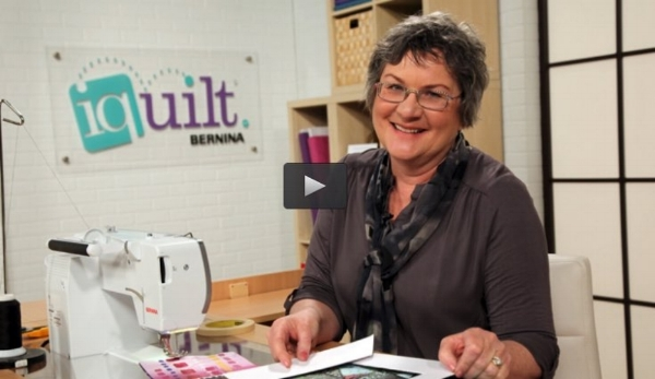 Katie filmed several courses with us when we worked with iquilt - check out her class  Paint & Stitch: Vibrant Acrylic Quilts !