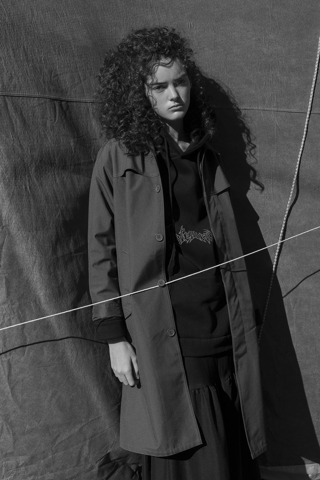 raincoat  APC  hoodie  vetements  skirt  vintage zoo emporium
