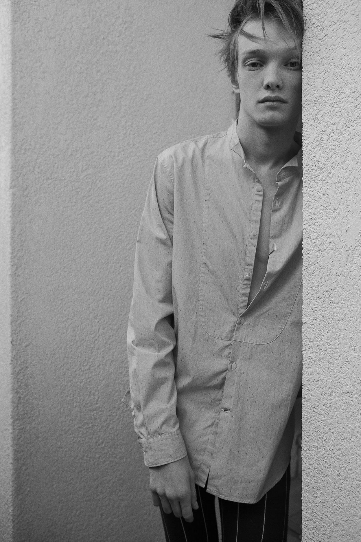 shirt  john varvatos   trousers topshop