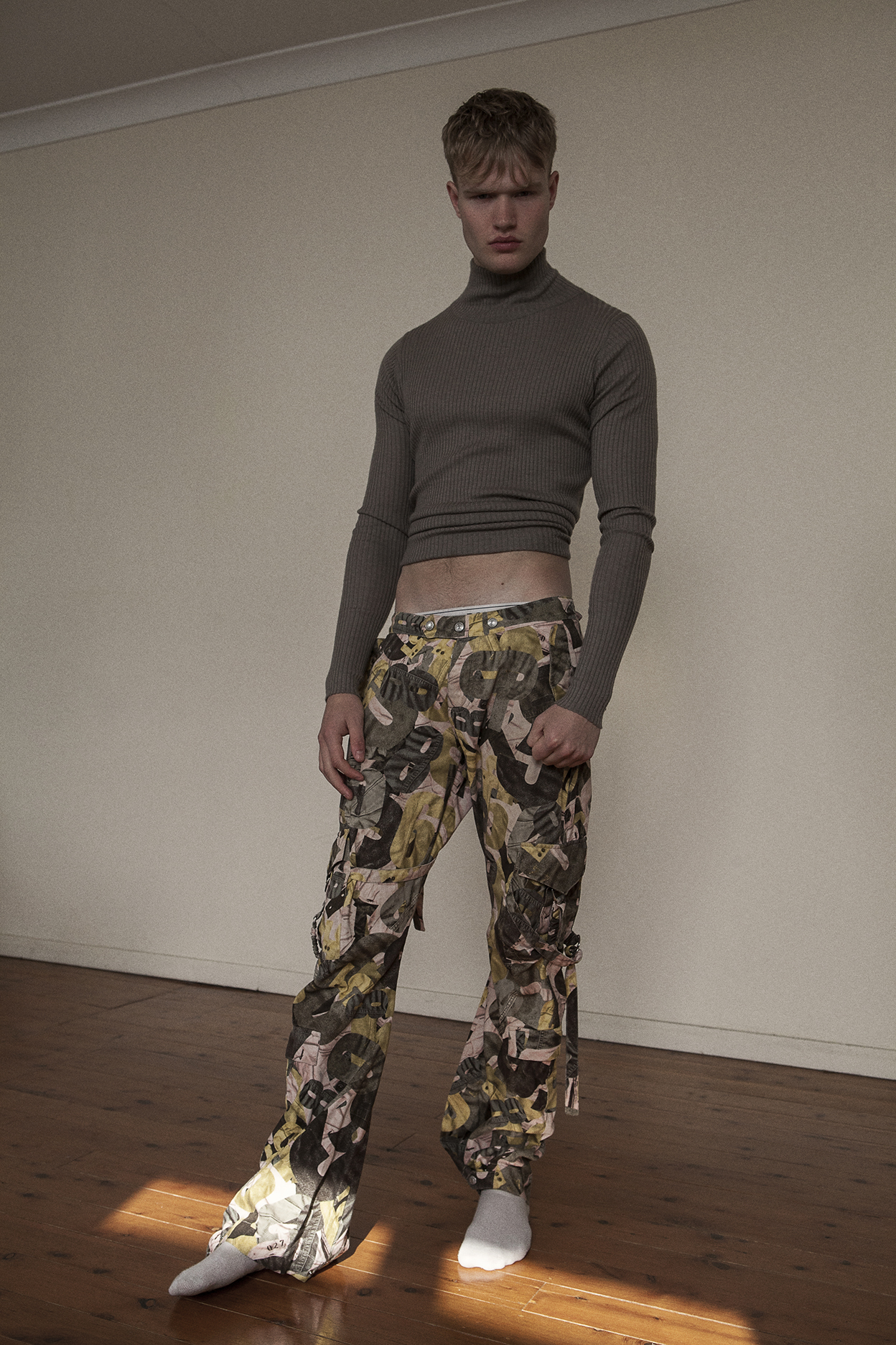turtleneck  RAEY  pants  vintage zoo emporium