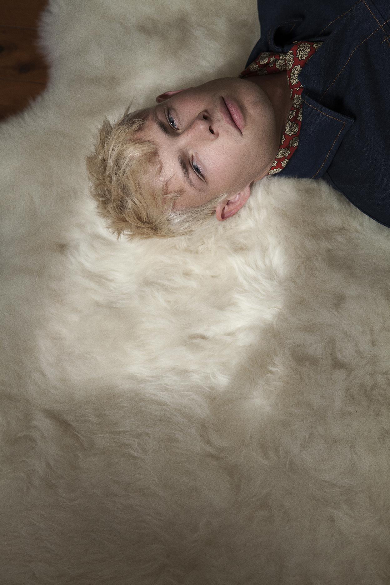 neckerchief  vintage zoo emporium  denim jacket  stella mccartney