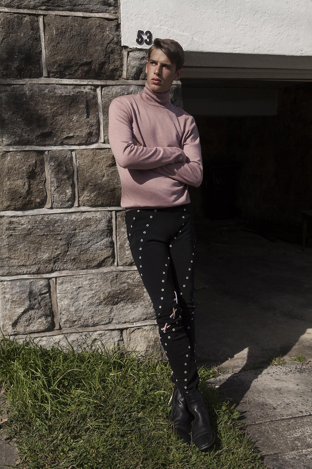 turtleneck  stylists own  pant  bec + bridge  boots  stylists own