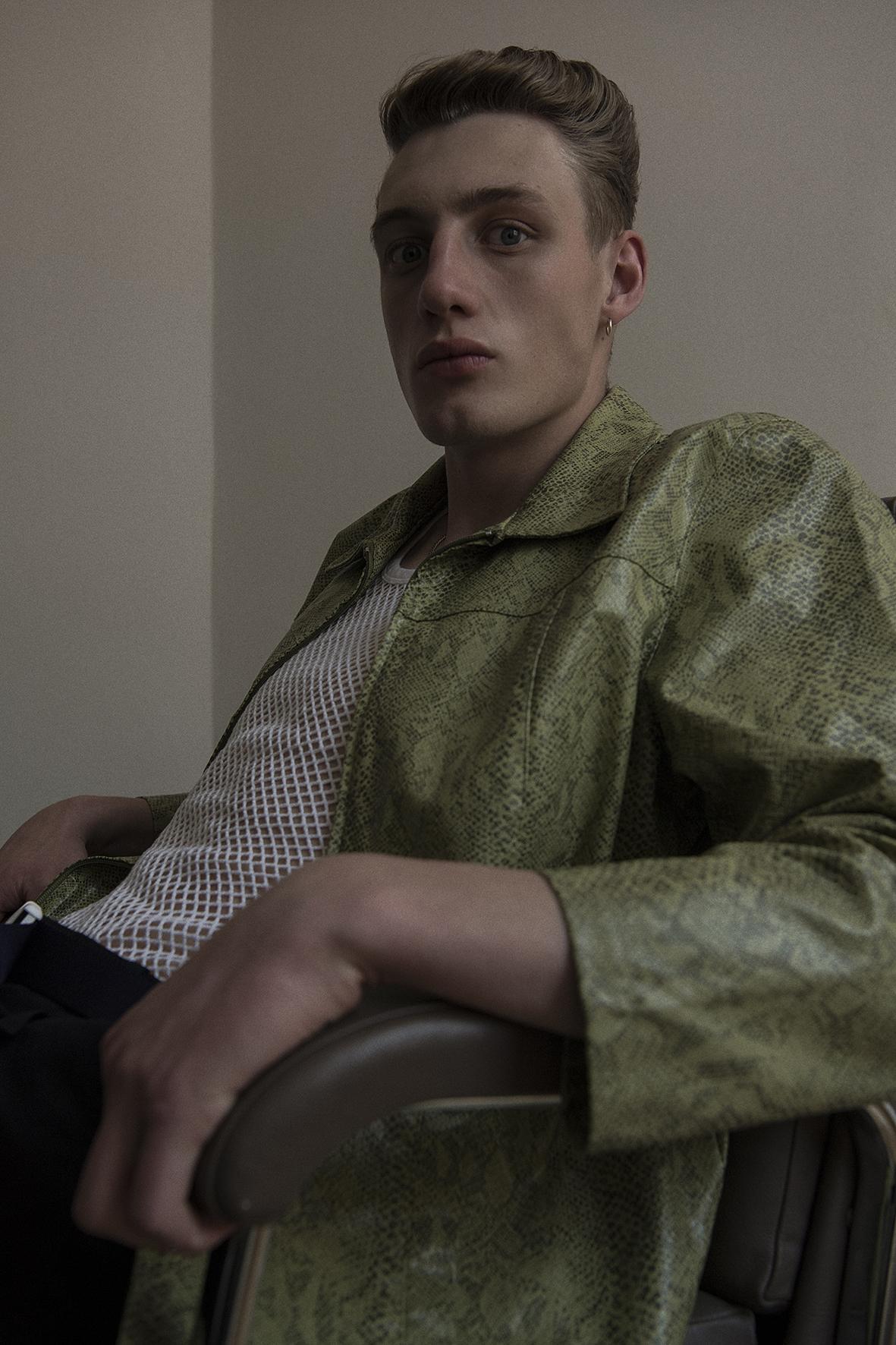 jacket + top + trousers  vintage