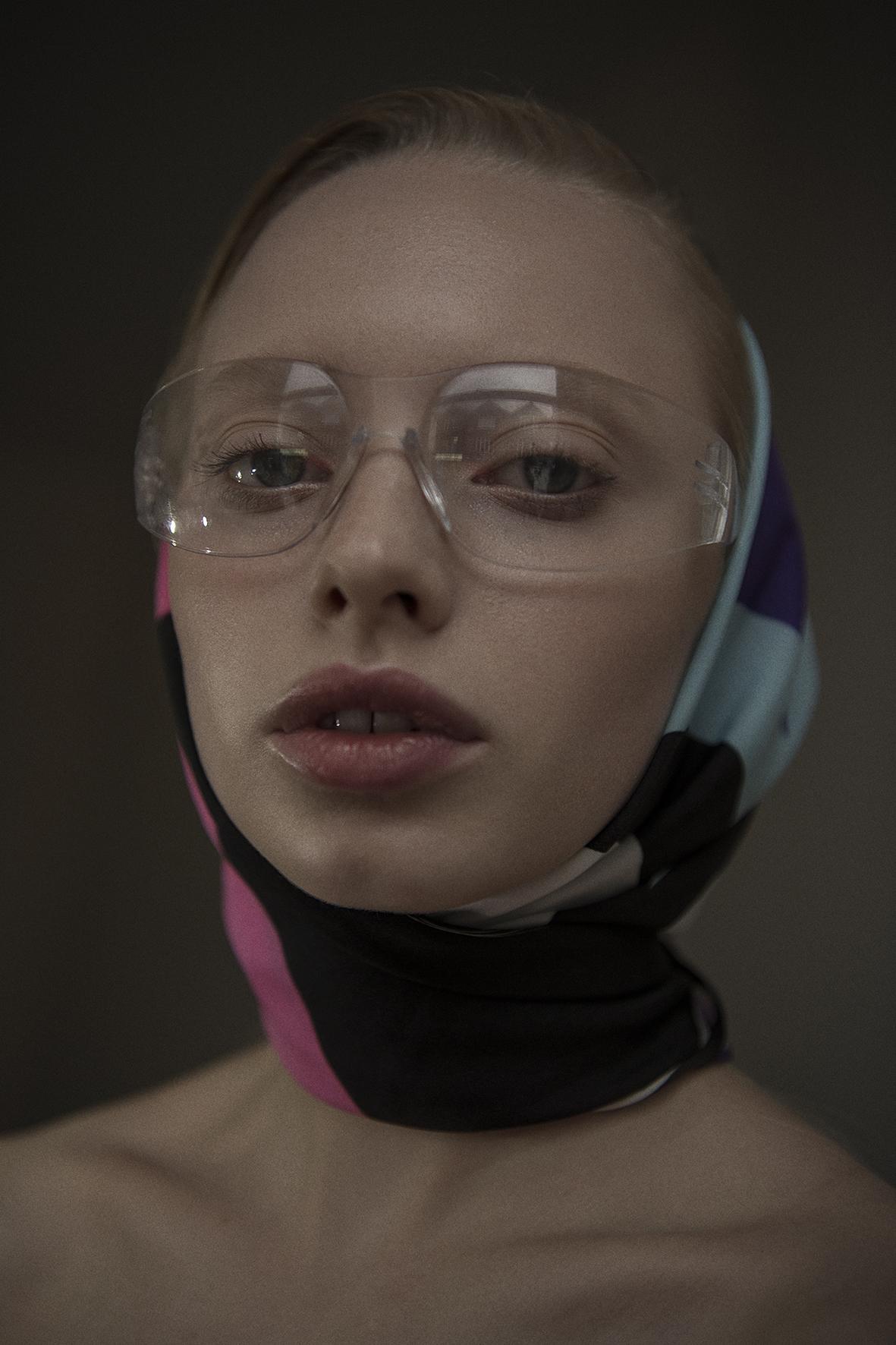 headscarf  vintage  sunglasses  stylist's own