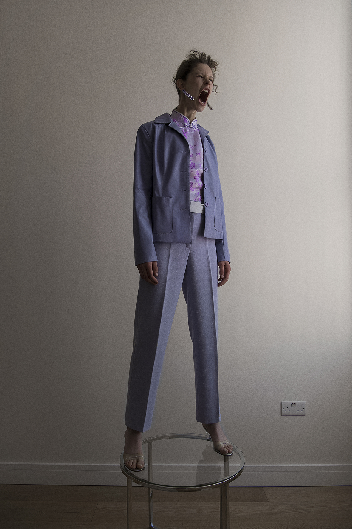 coat +top  vintage  trousers  & other stories  belt  vintage  shoes  dolce&gabbana