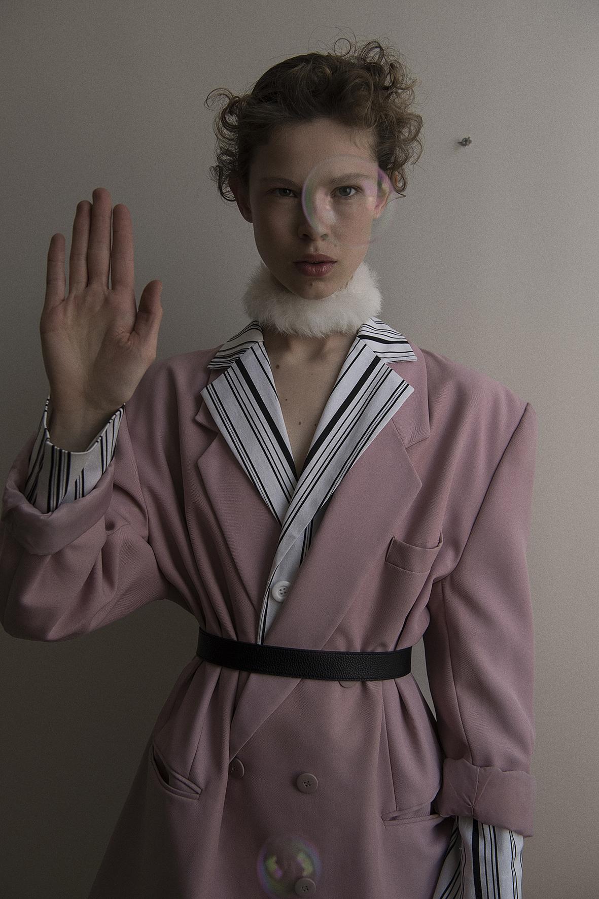 jacket  vintage  scarf + belt  stylist's own