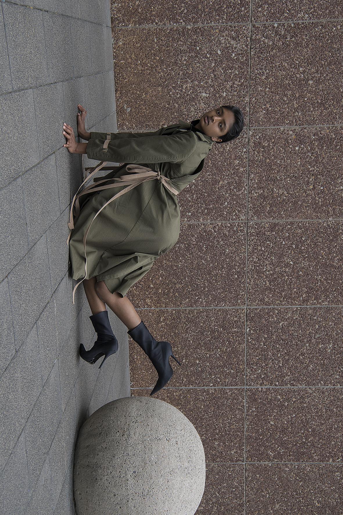 coat  ports 1961  neck band  j.w anderson  shoes  balenciaga