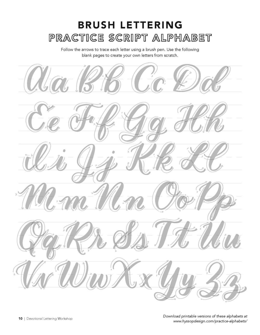Free Calligraphy Alphabets Jacy Corral Hyssop Design