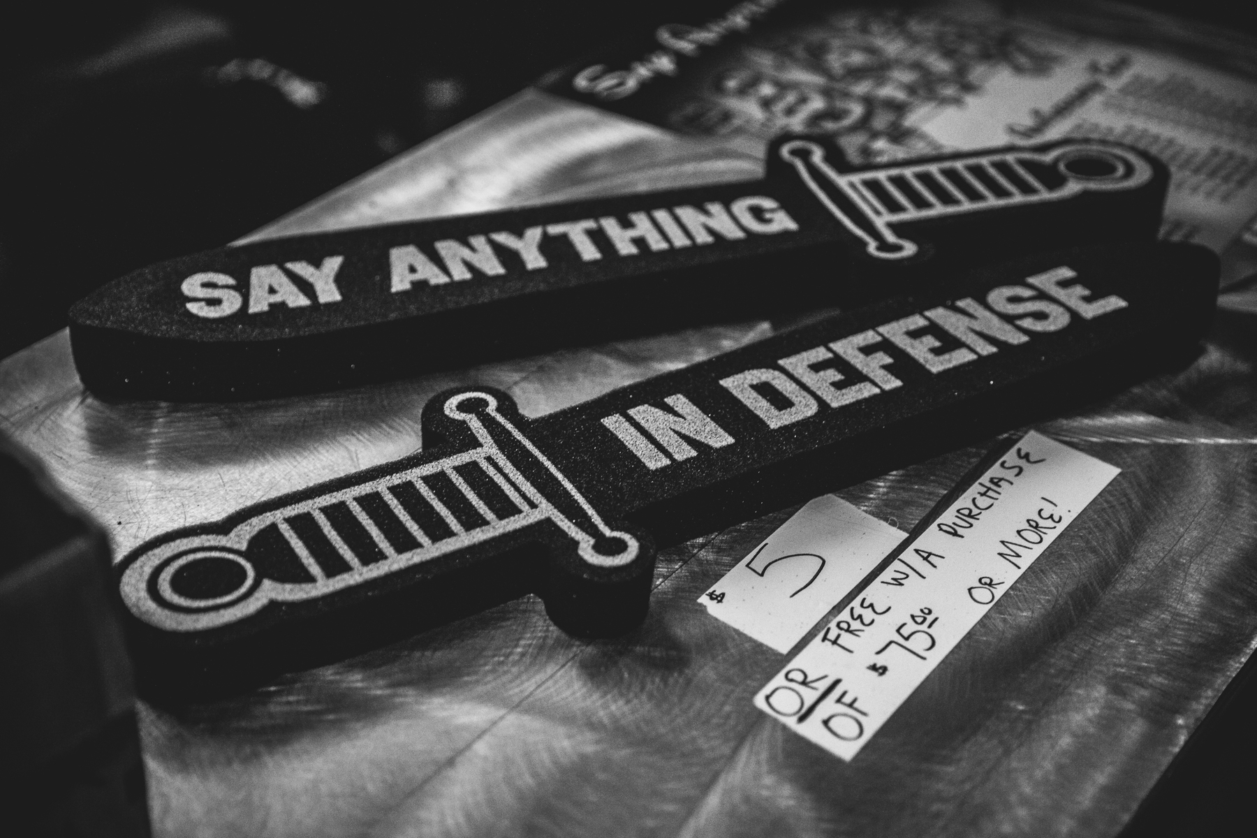 Say Anything • Delmar Hall • St. Louis, MO • 12.18.18 & 12.19.17