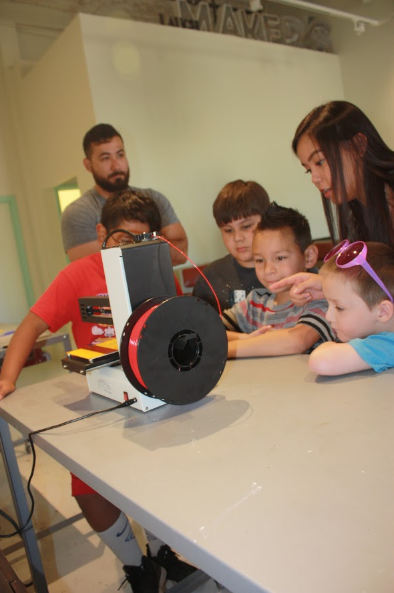 Lessons in 3D printers!