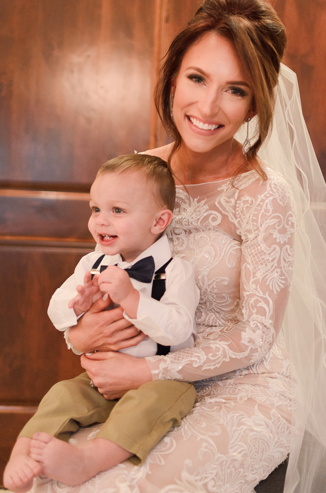 Oh did I forget too mention mom and dad got married this year?!? Jax was the best ring bearer ever! He refused to wear shoes that day- choose your battles mamas!