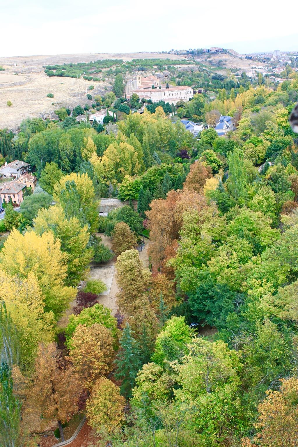 Alcazar View Segovia