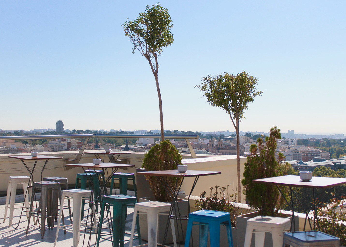 Bellas Artes Rooftop Madrid