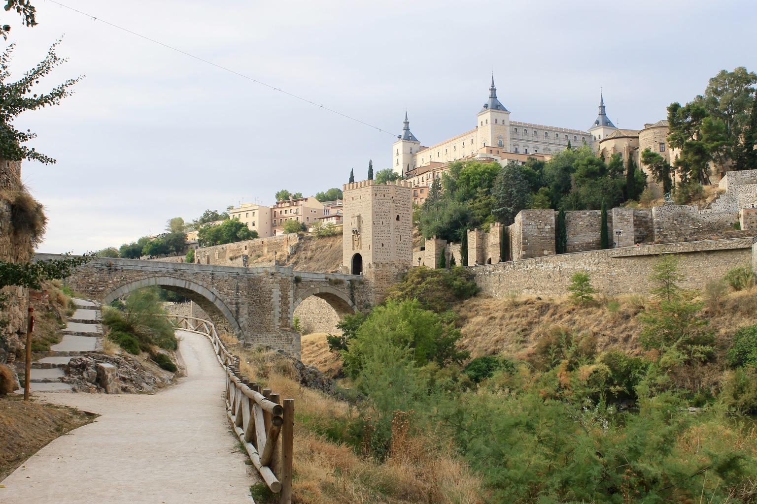 Toledo View into City