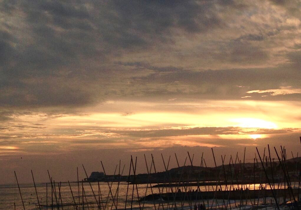 Sunset Sitges Barcelona