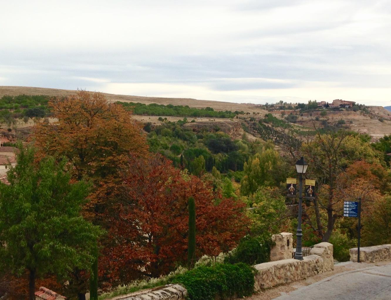 Running Path in Segovia