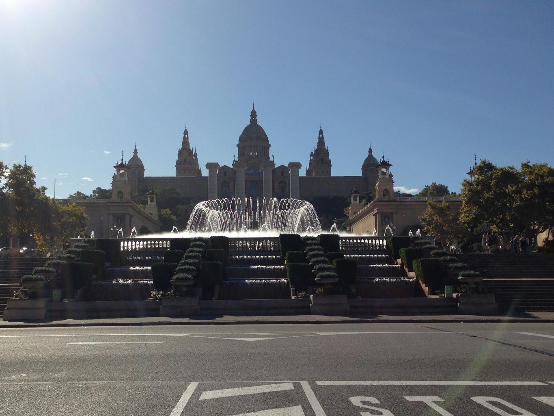 Montjuic Barcelona Magic Fountain