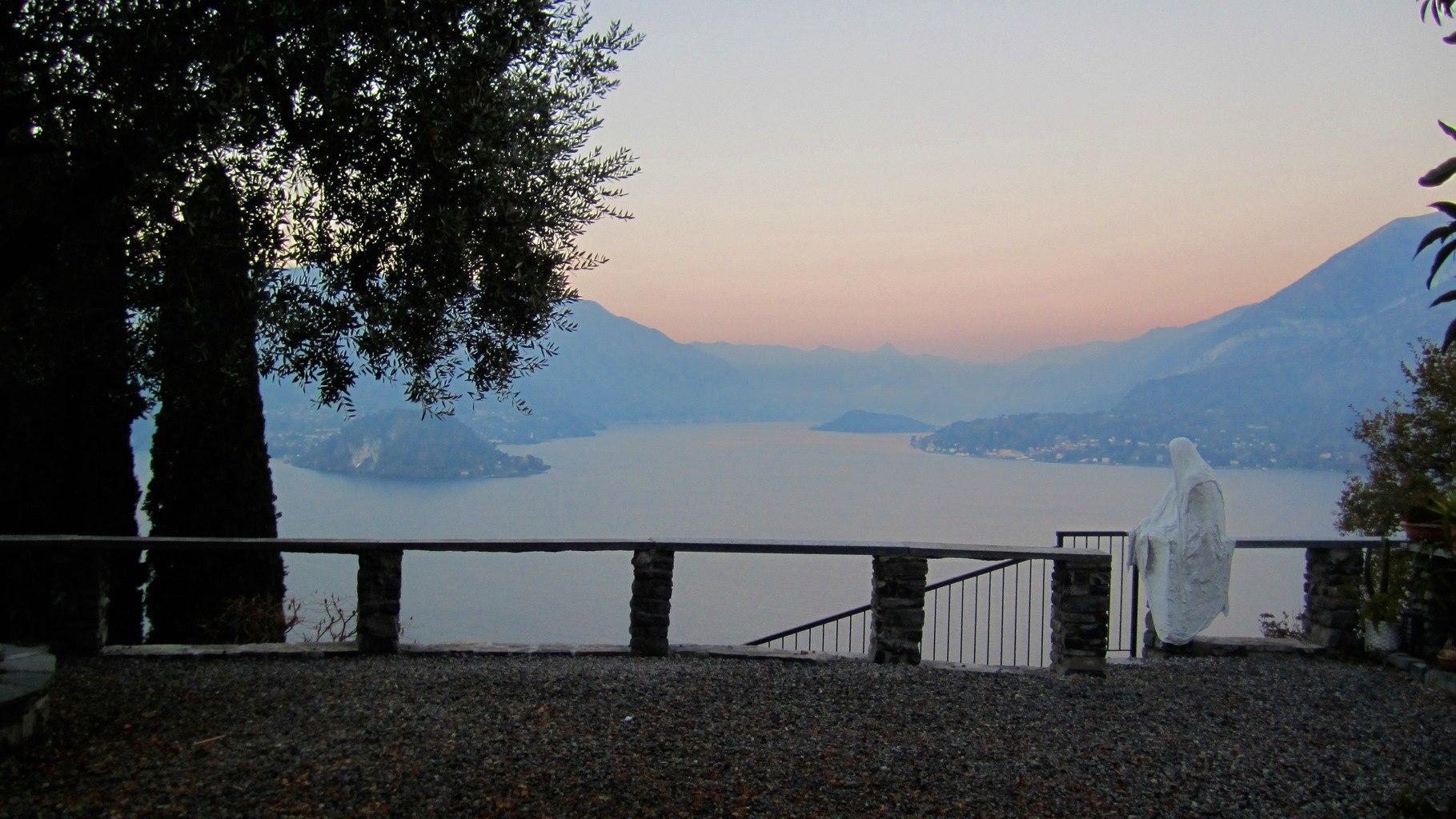 Sunrise at Vezio Castle Lake Como