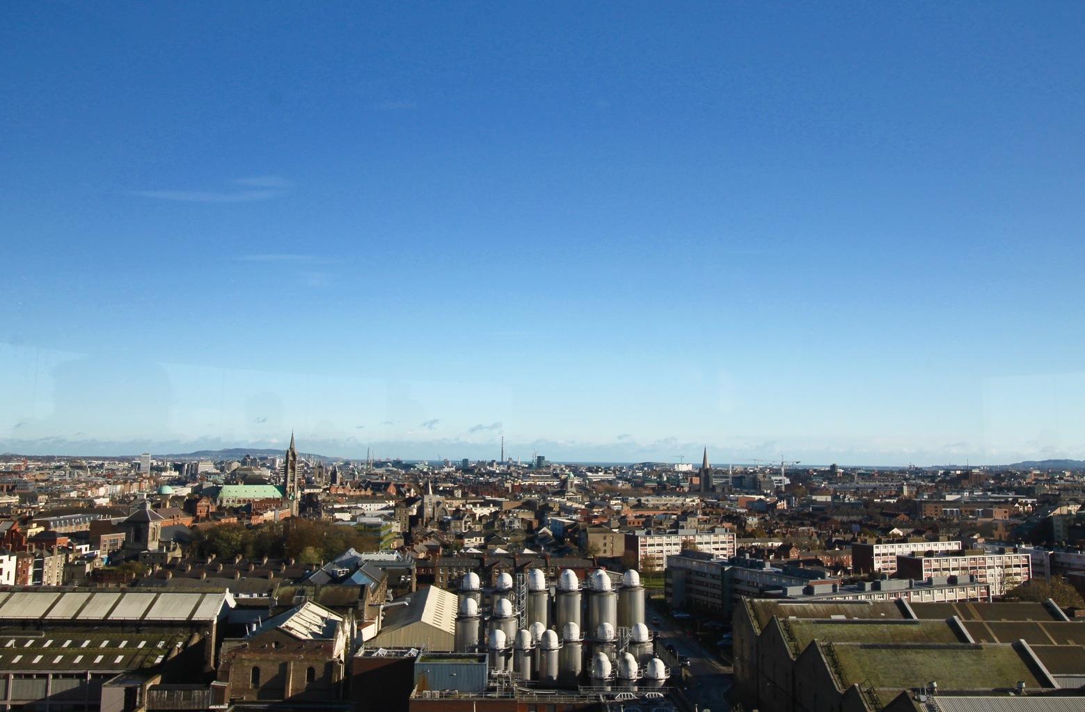 Dublin Skyline - Save Money in Dublin, Budget Dublin