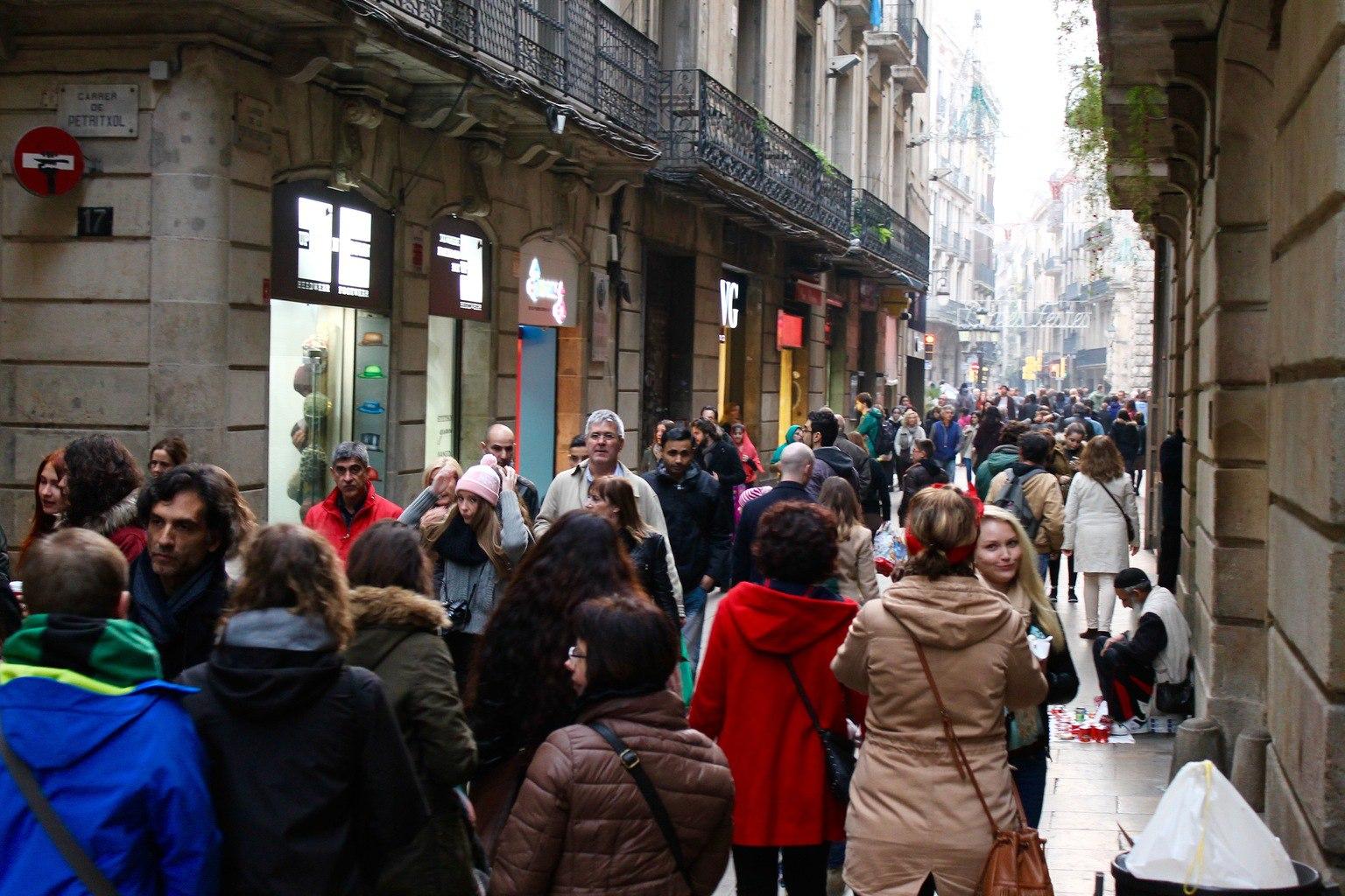 Shopping in Barcelona Christmas is Barcelona