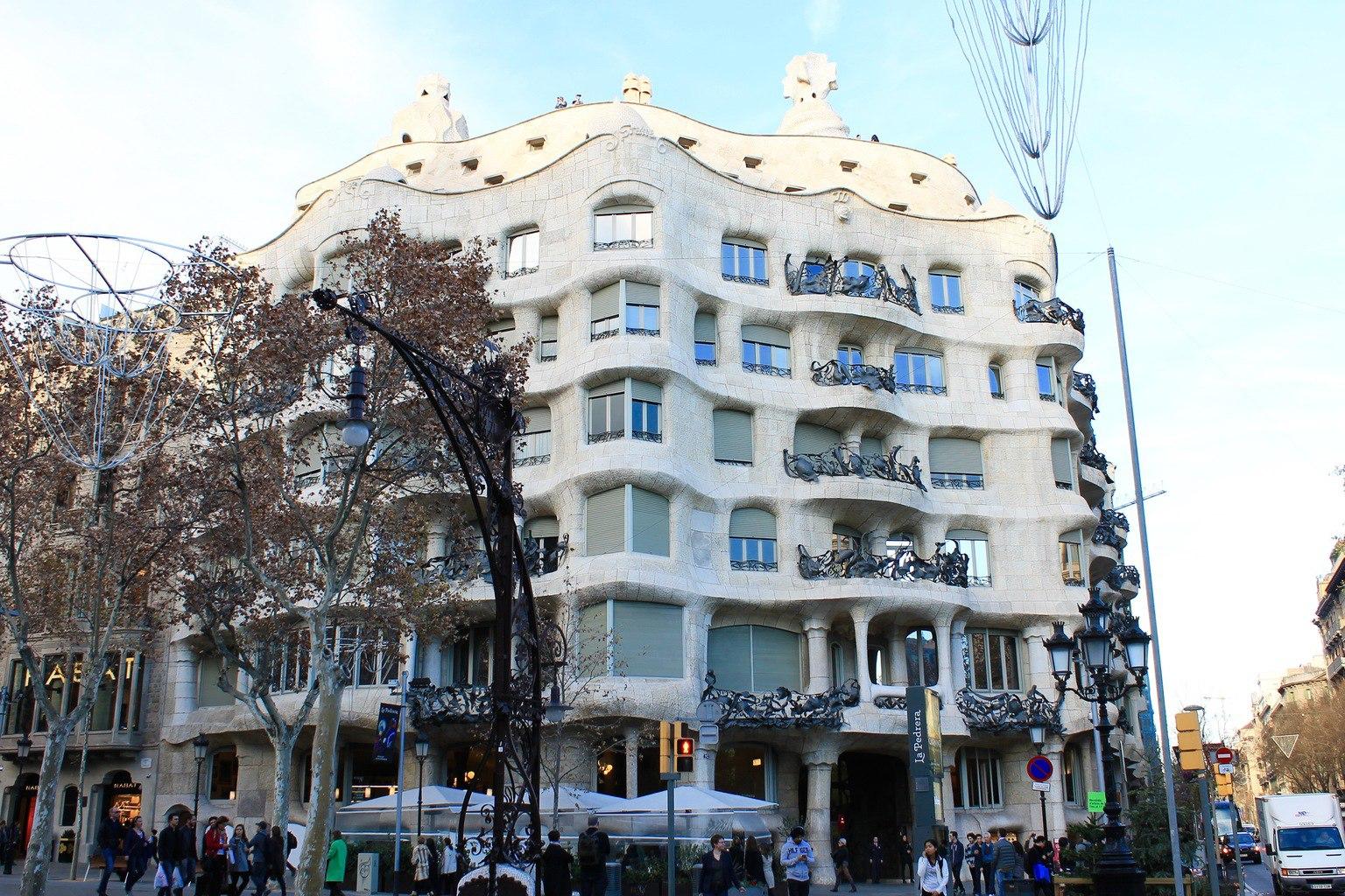 Casa Mila La Pedrera Barcelona
